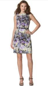 AGB Floral Sheath Dress