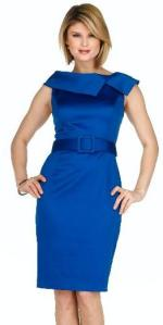 Ellen Tracy Belted Dress