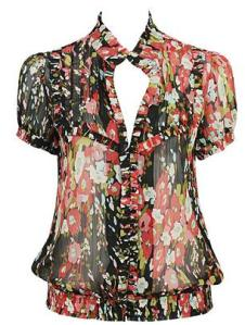 Forever 21 Fab Floral Top