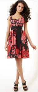 Kensie Floral-Print Sleeveless Dress