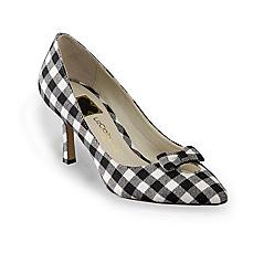 "Liz Claiborne New York® Women's ""Leigh"" - Black Gingham"