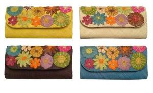 Madimports.net Floral Clutch
