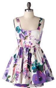 Modcloth.com Floral District Dress