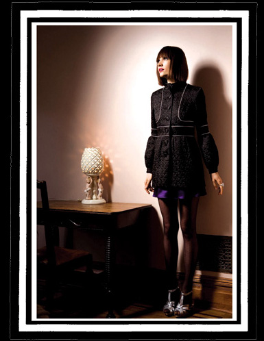 Rubytone Lila Overcoat