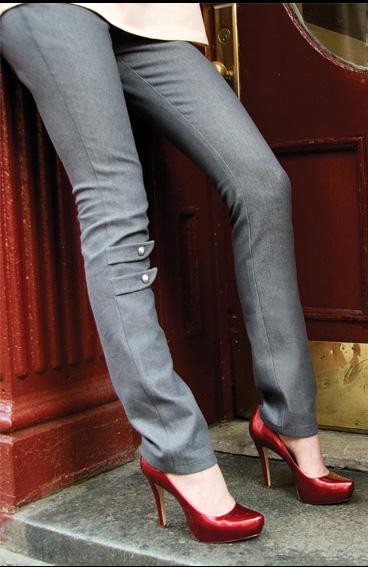 Rubytone Militaire Skinny Jean