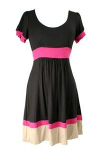 Two Tone Colorblock Dress