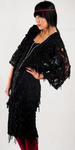Lou Fringe Dress