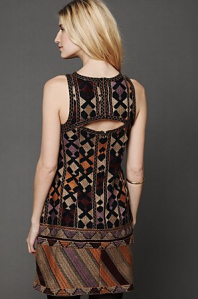 Free People Phulkari Embroidered Shift Dress - $99.95