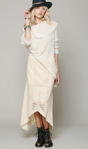 Free People Back and Forth Cutout Skirt -- $29.95