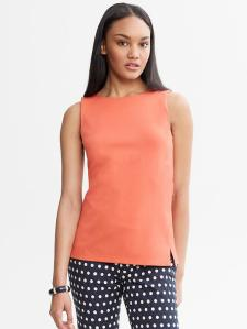 Mad Men Collection Sleeveless Shell - $49.50