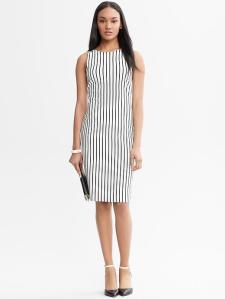 Mad Men Collection Vertical Striped Dress -- $140